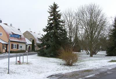Siedlung Am Anger im Winter